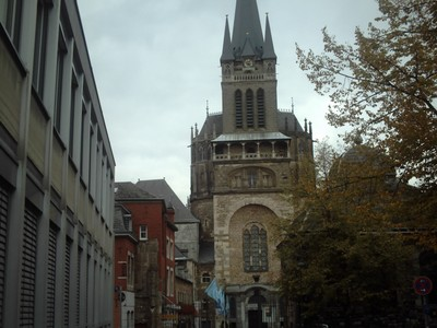 AACHEN  GERMANY.  Cathedral.   32m high.