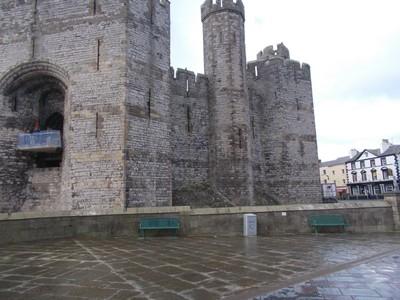 CAEERNARFON  WALES  UK   Castle