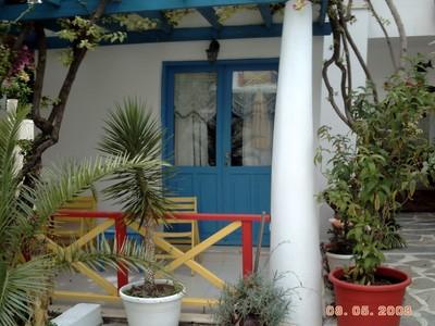 TURKEY  BODRUM.  Su Hotel   veranda and room door.