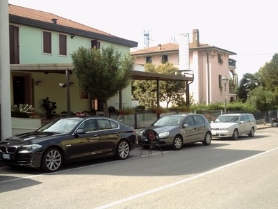 PESCHIERA DEL  GARDA  ITALY.   My  hotel for 2 nights   Peschiera  del  Garda.