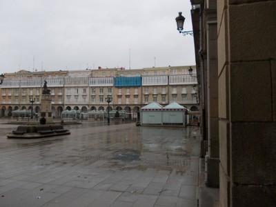 A.CORUNA  GALICIA   SPAIN.----Maria  Pita  Square.
