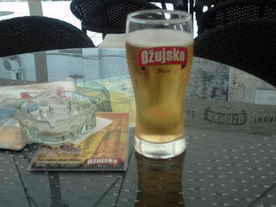 OZUJSKO PIVO is a lager  beer at  5%.  Created  in Croatia  in  1892. It as 44%  of  the  market..