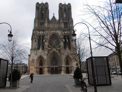 REIMS,  FRANCE.   --Cathedral.
