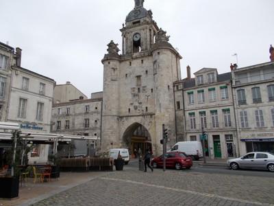 LA  ROCHELLE,  FRANCE, -- Gross Hologe gateway into town  centre.