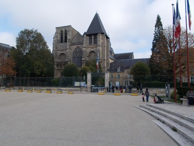LE  MANS  FRANCE, -- Notre-Dame De La  Couture,   dates from  12th  century.