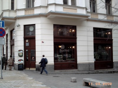 CZECH  BRNO...Had a meal here.