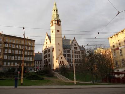 SZCZECIN  POLAND.    Near the Ibis Hotel.