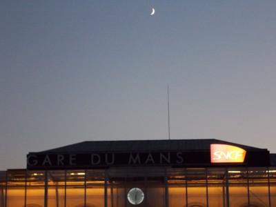 LE  MANS  FRANCE. ---  6 pm in November.