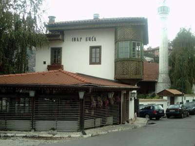 SARAJEVO.  Svrzo  house.