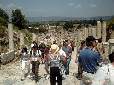 TURKEY  EPHESUS        Street Scene.