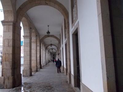 A.CORUNA   GALICIA SPAIN ---Arches  of  Maria  Pita  Square.