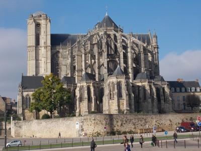 LE MANS  FRANCE.  Cathedral of St, Julien.