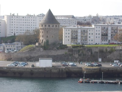 BREST,   FRANCE.  Tanguy tower and  museum.