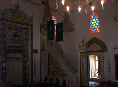 MOSTAR ,  BOSNIA HERZEGOVINA  --  Inside  Mosque.