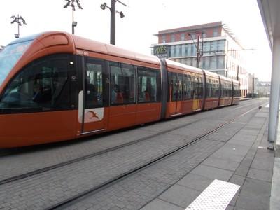 LE MANS  FRANCE---   Local  tram.