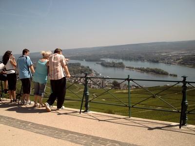 RUDESHEIM  GERMANY.   River Rhine.