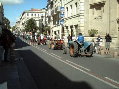 AVIGNON  FRANCE -- Farmers  parade.