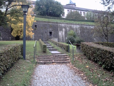 WURZBURG  GERMANY.     On the way up to Castle.