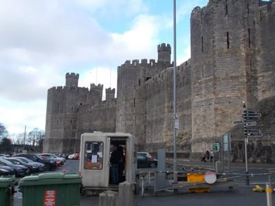 CAERNARFON  WALES  UK   Castle.