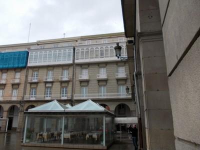 A.CORUNA   GALICIA  SPAIN.--Corner  of  Maria  Pita  Square.
