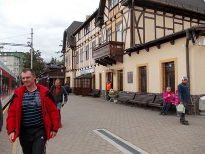 RAILWAY STATION,at  Stari Smokovec, FOR TATRA FUNICULAR