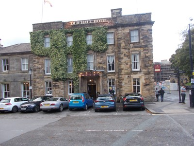 BUXTON.  Old Hall Hotel. Mary Queen of Scots stayed here.!