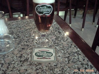 CZECH  BRNO.   Local  Beer.