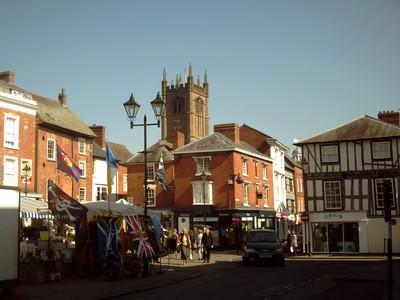 LUDLOW,  ENGLAND.