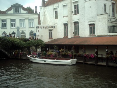 BRUGES  BELGUIM   Many boat trips,on the canals.