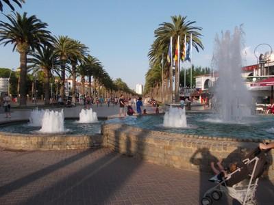 SALOU  SPAIN.---Promenade.  Jaume  1.