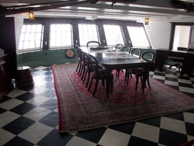 HARTLEPOOL,NAVY MUSEUM.  CAPTAINS MEETING ROOM.