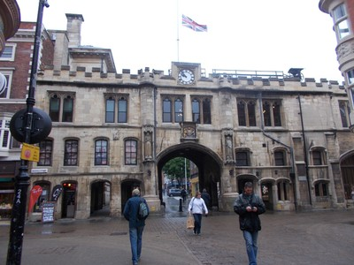 LINCOLN   STONEBOW GATEWAY.in High street.