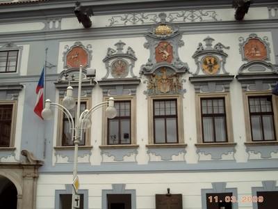 CZECH,  CESKY BUDEJOVICE.    Town Hall.