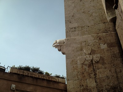 CAGLIARI.  Elephant tower. Built in 1307.