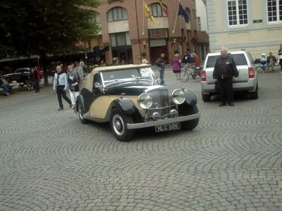 BRUGES  BELGUIM     Classic Car Rally.