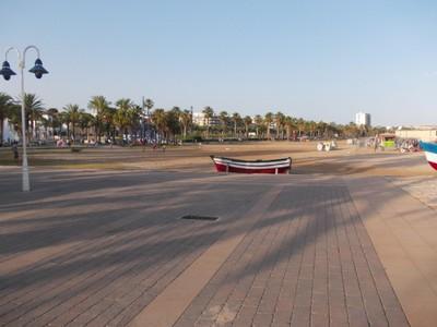 SALOU,  SPAIN.    Sandy  beach.