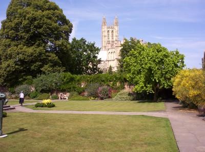 CANTERBURY  ENGLAND.   Gardens.