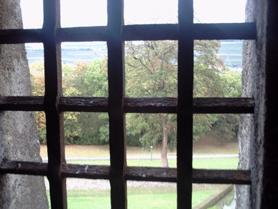 WURZBURG  GERMANY.        Looking out from castle.