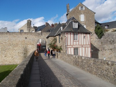 VANNES,  FRANCE,..  One of the entries to city.
