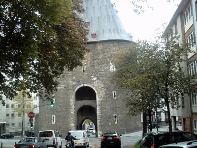 AACHEN  GERMANY.    Marschiertor,  13th century gate in city wall.