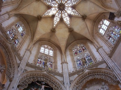 SPAIN  BURGOS.. Cathedral of Santa  Maria.