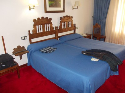 LLANES,  SPAIN.  --  Hotel  room,  in  Hotel  Don Paco.  Very  Comfortable.
