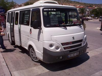 TURKEY  CESME.     Mini bus for Cesme to Alcati.  10km   [ 6 miles
