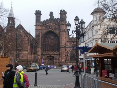 CHESTER . CATHEDRAL.
