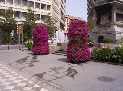 SPAIN  GRANADA -- City centre.