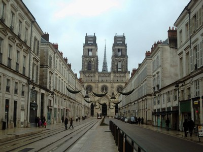 ORLEANS,  FRANCE.   Cathedral.