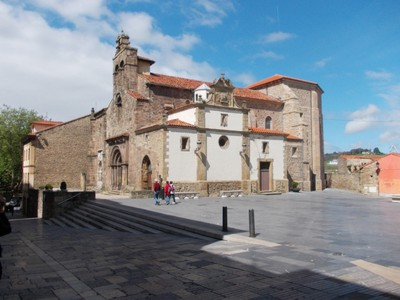 AVILES,  SPAIN.  --  Padres Franciscanos  church.  --Church of  Franciscan  Fathers.