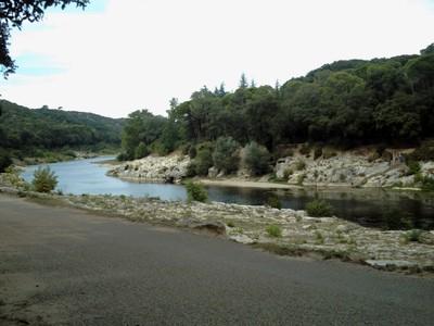 PONT DU GARD... River Gardon.