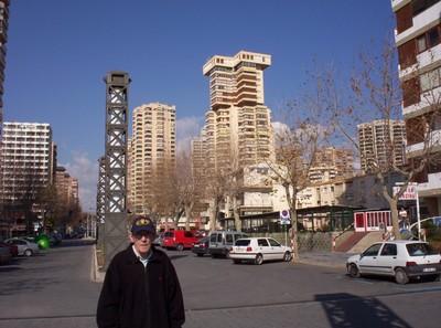 BENIDORM, COSTA BLANCA SPAIN.