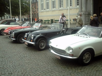 BRUGES  BELGUIM..   There was a car rally ,the day i was in Bruges.
